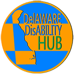 Image of a Delaware Disabilities Hub website Logo
